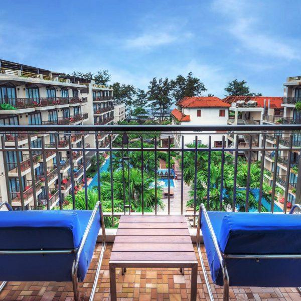 Patong beach resort phuket , Deluxe Pool View